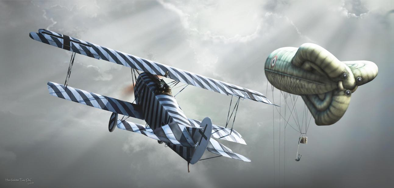 Capt. Hans Kirschstein 'Easy Prey' by rOEN911