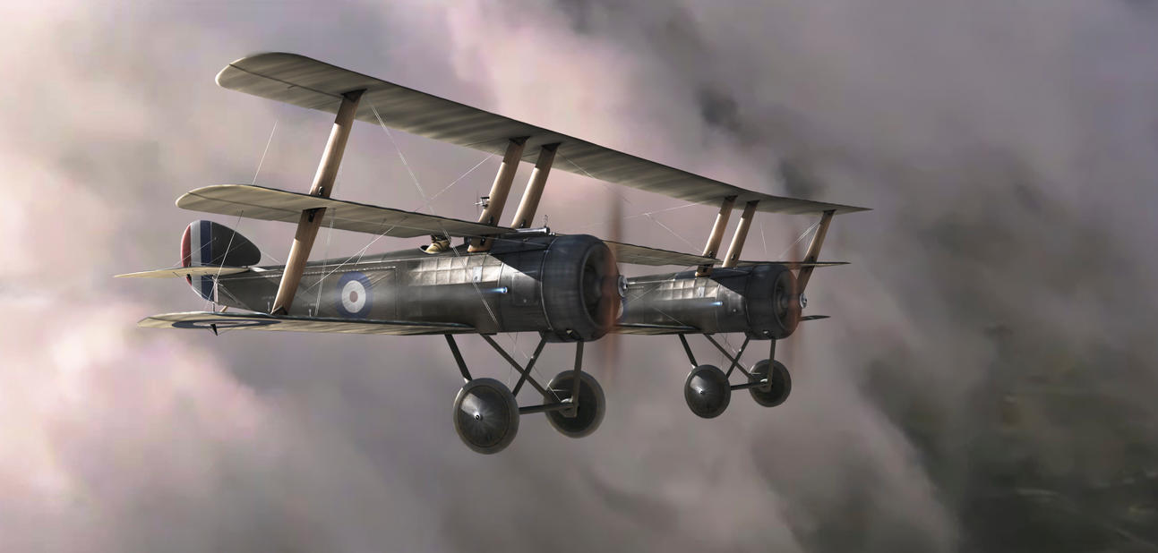 """The Sopwith """"Python"""" by rOEN911"""