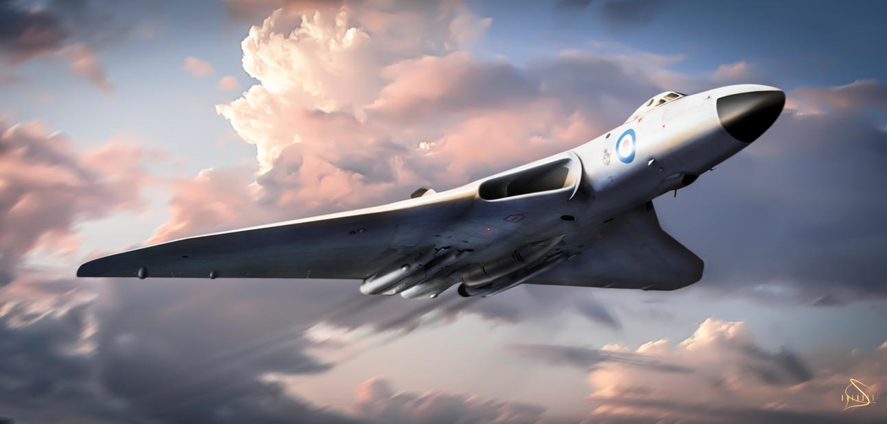 avro vulcan by roen911