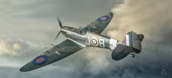 Spitfire MkV Re-Textured