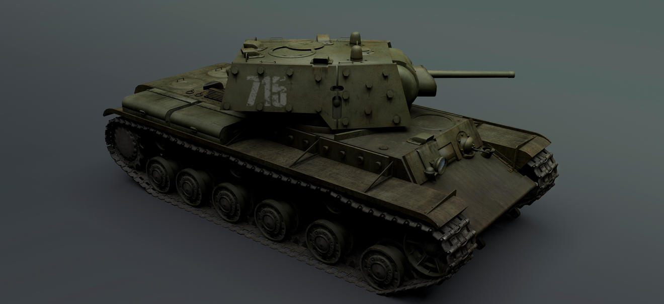 KV-1E - WIP New Textures by rOEN911