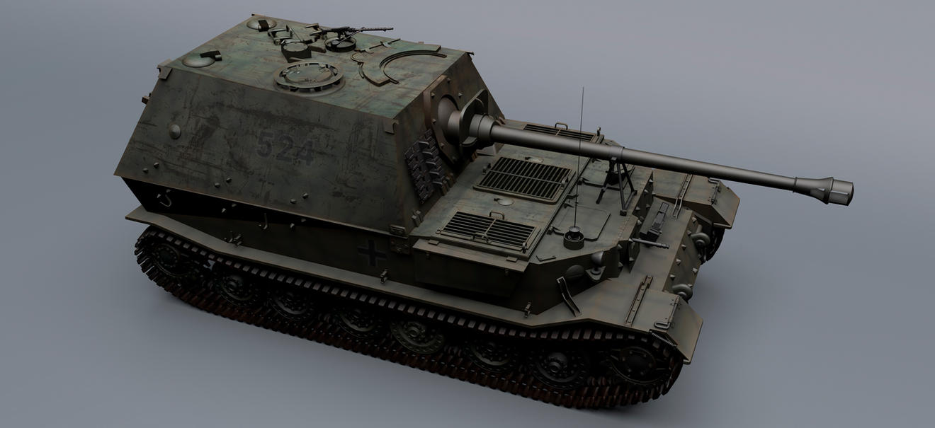 Sd.Kfz. 184 Elefant WIP by rOEN911