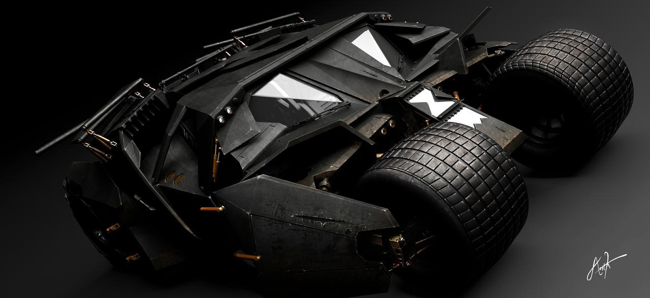 Tumbler Batmobile - The Dark Knight Rises by rOEN911
