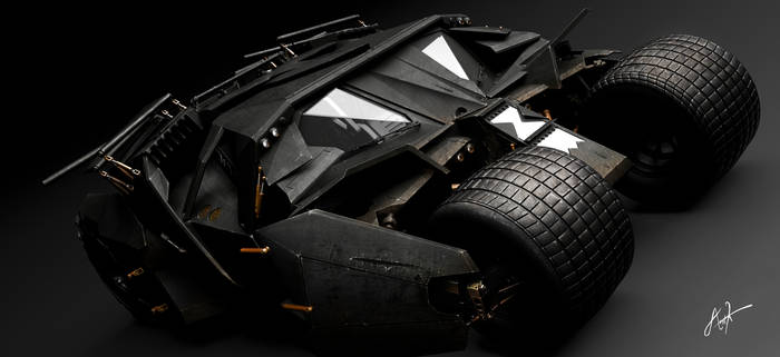 Tumbler Batmobile - The Dark Knight Rises by rOEN911