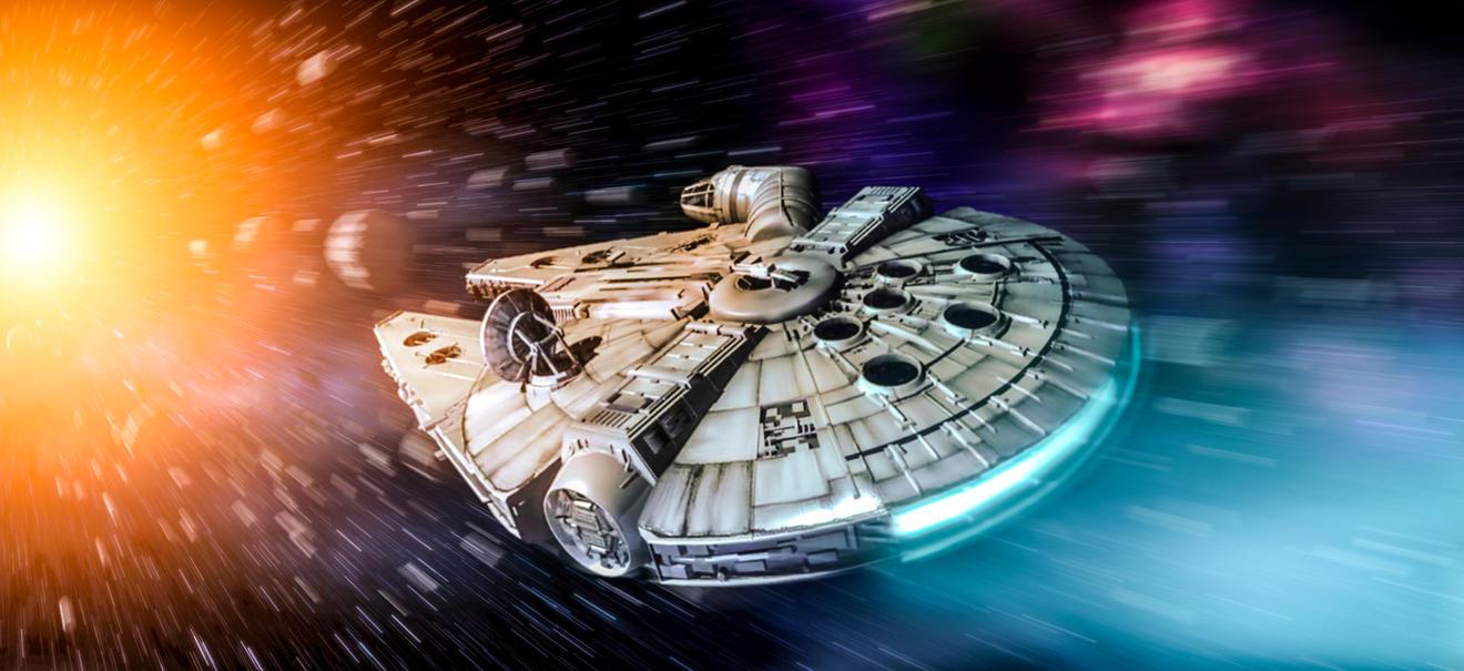 Star Wars -  Milennium Falcon by rOEN911