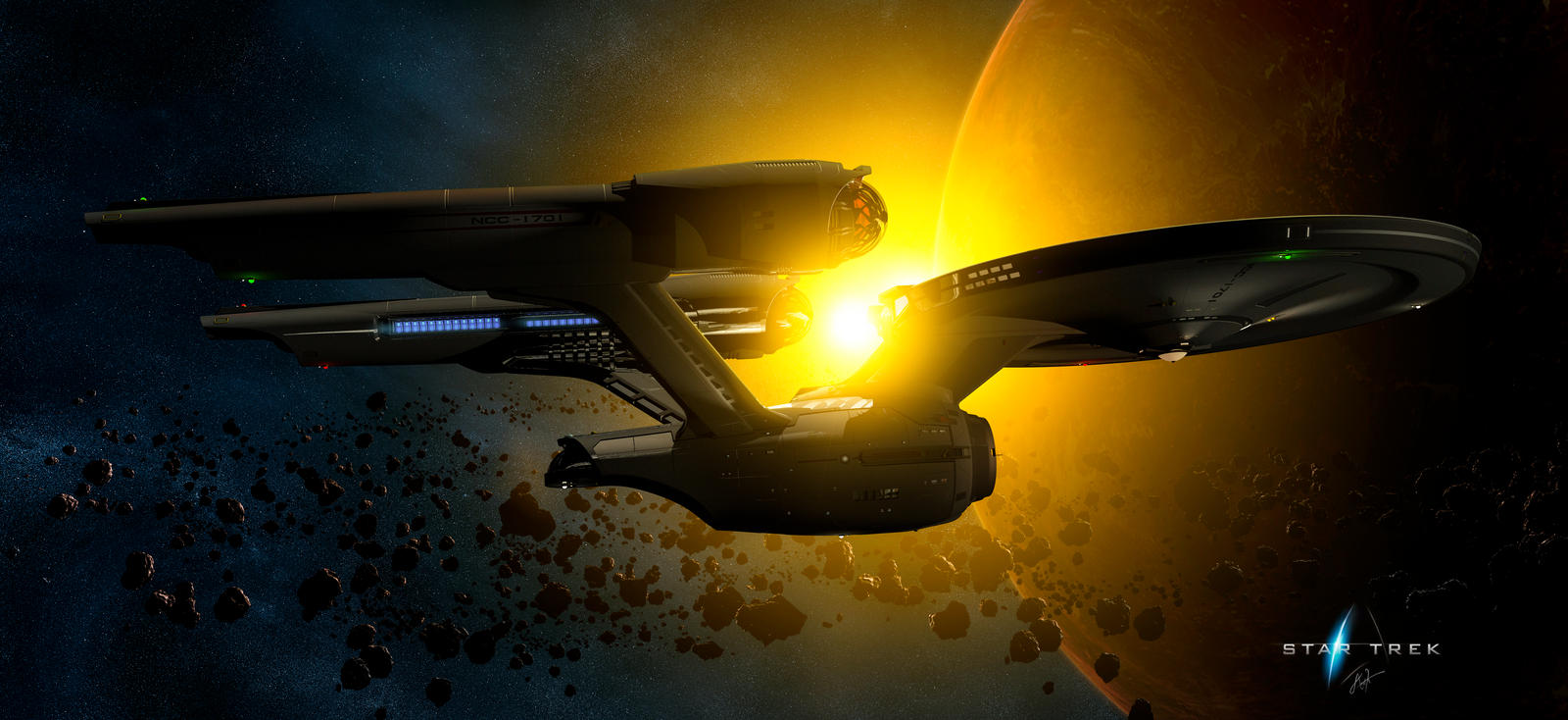 Star Trek - Reimagined CONNIE - Warm Sunrise by rOEN911