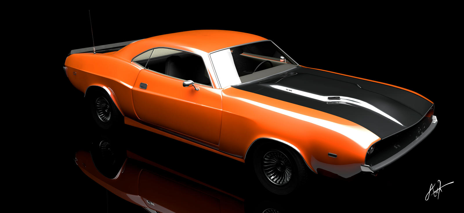 Dodge Challenger by rOEN911