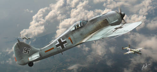Home Defender - Over Germany by rOEN911