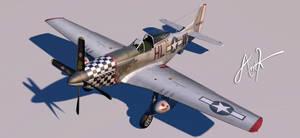 P-51 D WIP by rOEN911