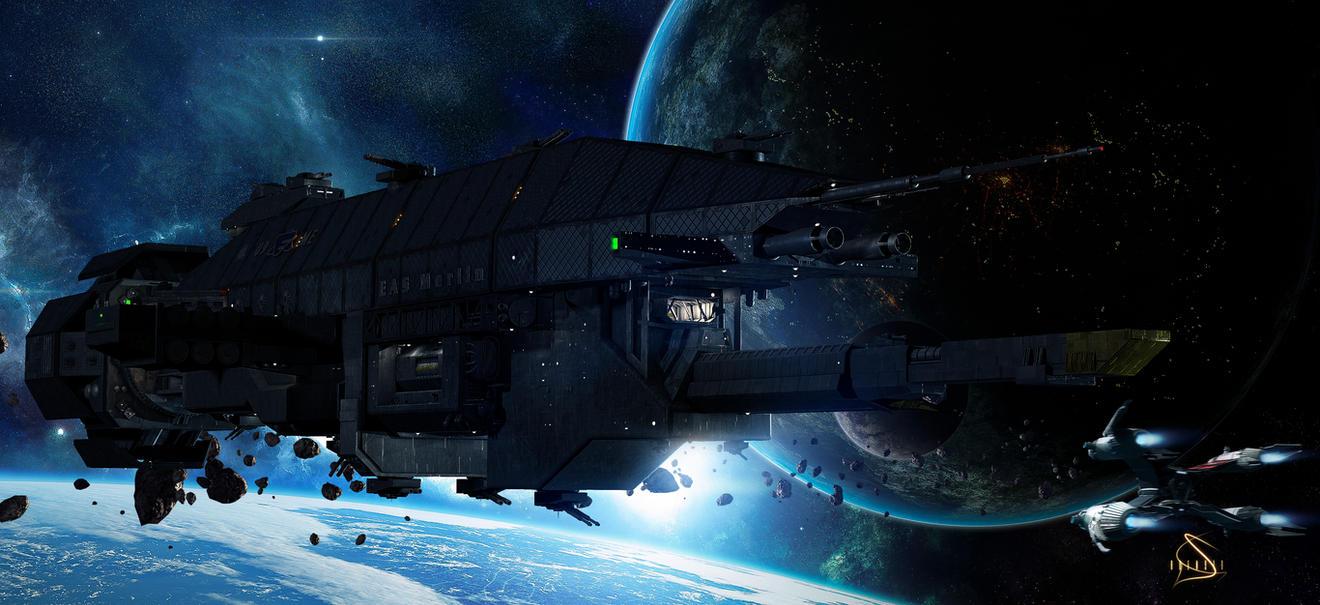 Warlock Class Destroyer by rOEN911