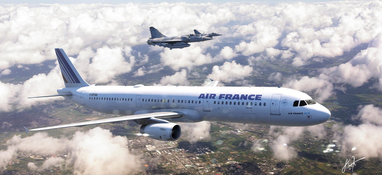 Air France by rOEN911
