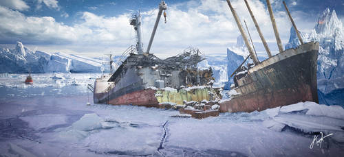 Unexplained disappearance - Matte Painting by rOEN911