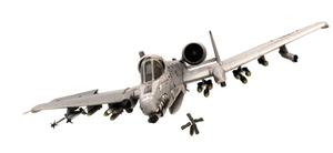 A-10 Tankbuster png - Aircraft resources