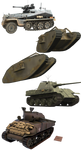 Tank Pack png - Armor Resources