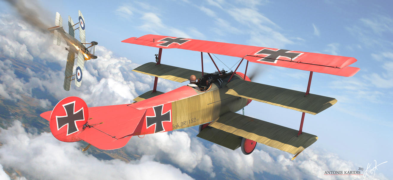 red baron ww1