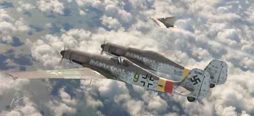 Focke-Wulf Fw-230  Erla by rOEN911