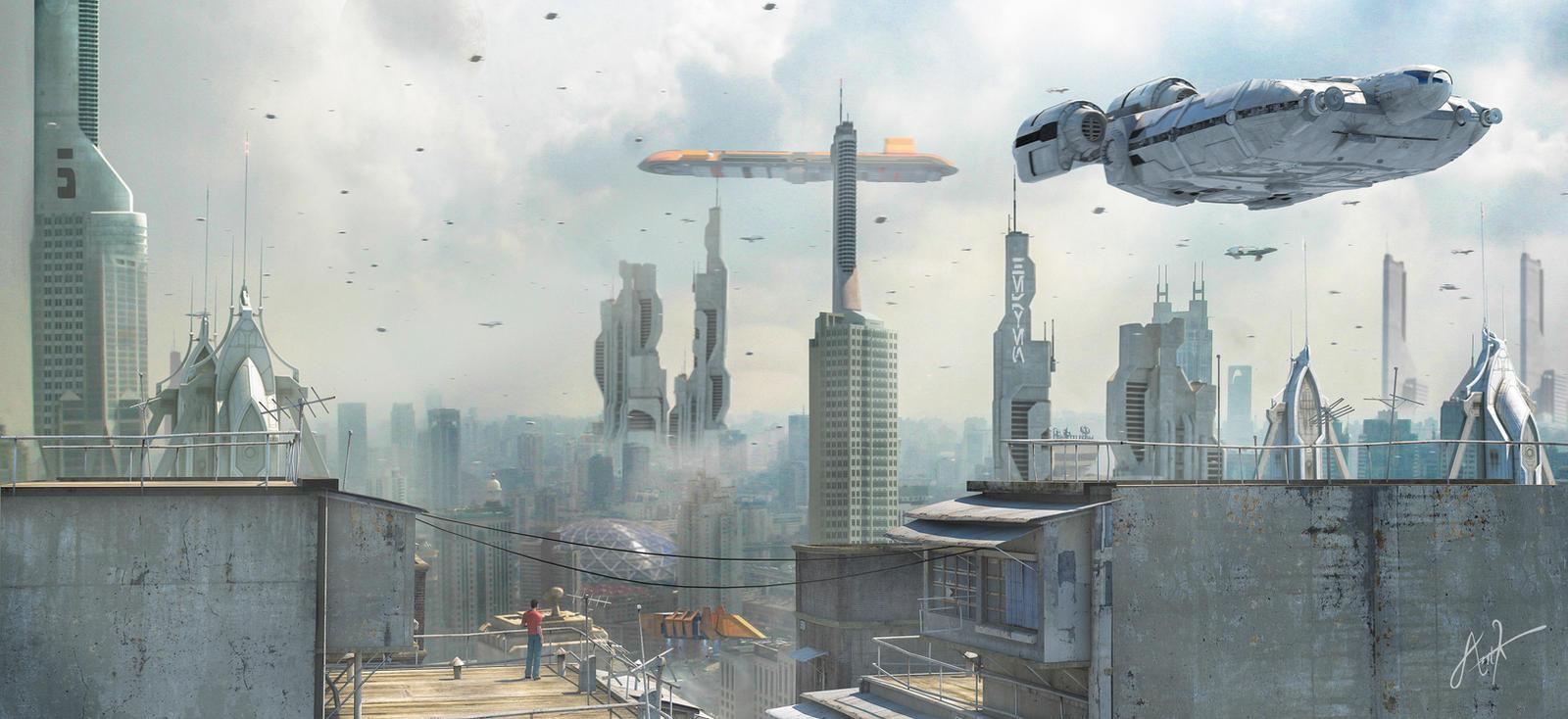 Star Wars Battlefront  Round Buildings