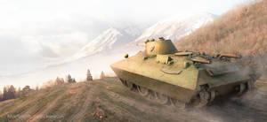 The convertible tank Bt-sv 2