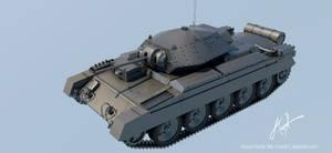 British Crusader tank by rOEN911