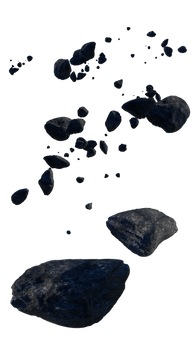 Asteroids (png)