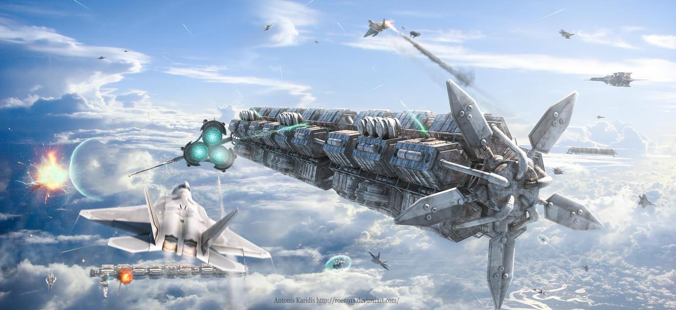 Final Battle by rOEN911