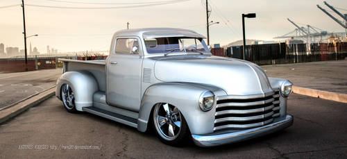 50s Chevy Truck by rOEN911