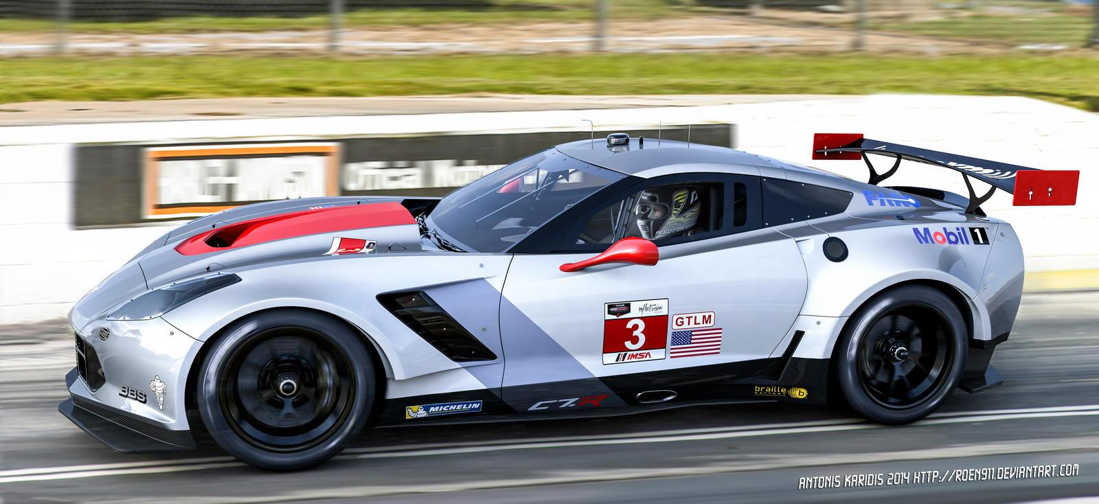 Corvette Racing C7 R Gt By Roen911 On Deviantart