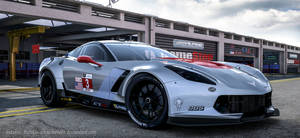 Corvette  C7.R GT  Second Scene