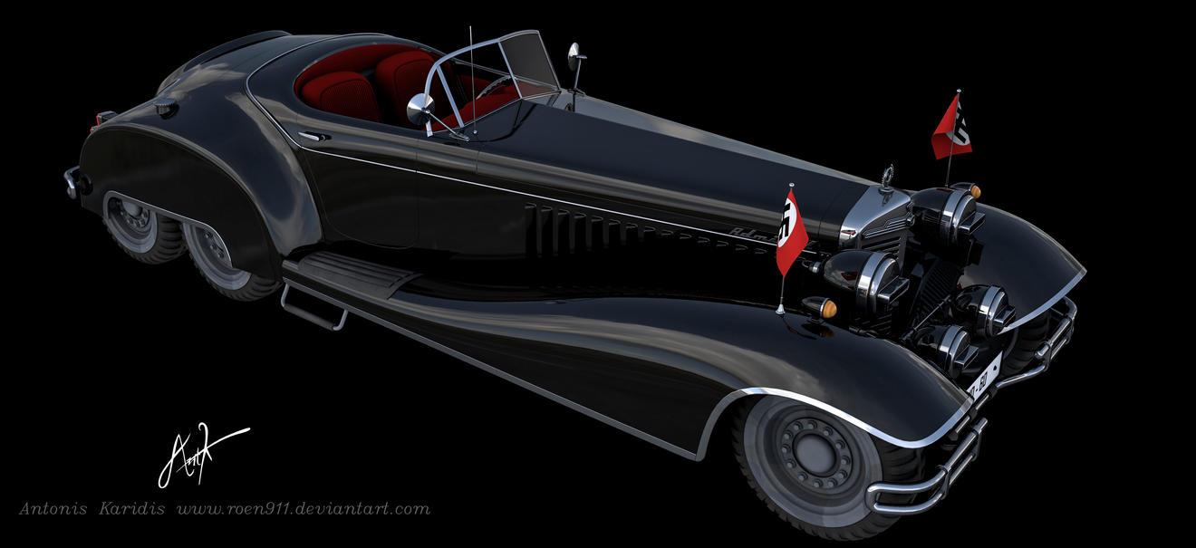 Nazi VIP car by rOEN911