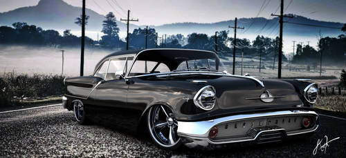 1957 Oldsmobile Coupe by rOEN911