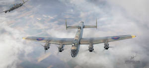 Avro lancasters