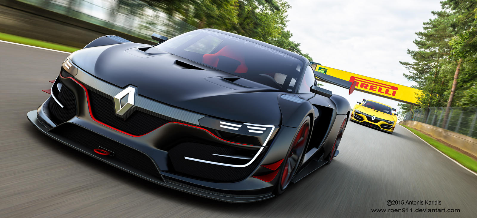The Race Renault Rs01 By Roen911 On Deviantart