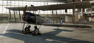 Greek Airforce AVRO 504K by rOEN911