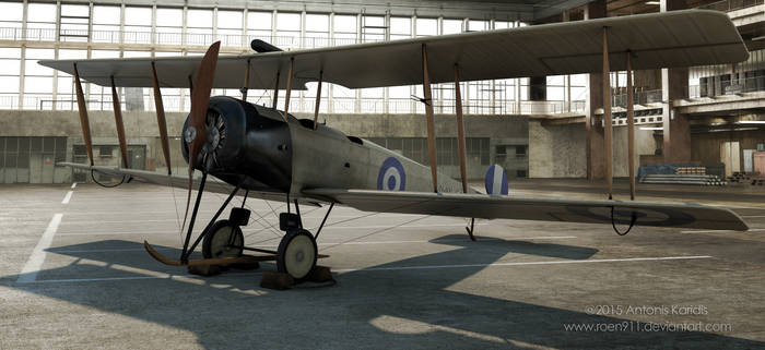 Greek Airforce AVRO 504K