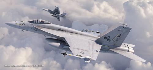 Super Hornets by rOEN911