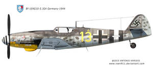 BF-109 G10 - 5.JG4 Germany 1944 by rOEN911