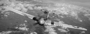 p-51 Mustang by rOEN911