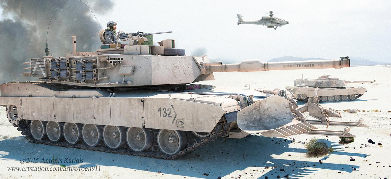 m1a2 Abrams by rOEN911
