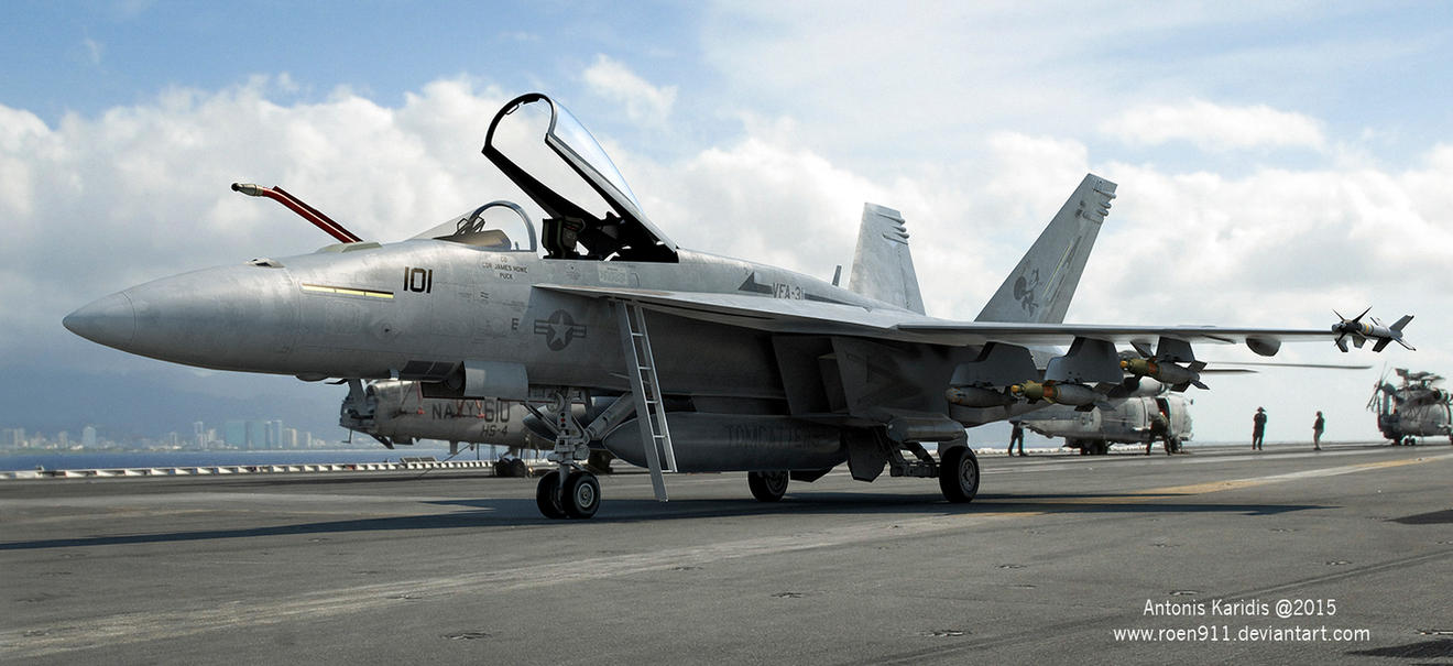 F-18 Tomcatter by rOEN911