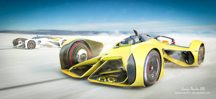 Chaparral Racing 2X Vision