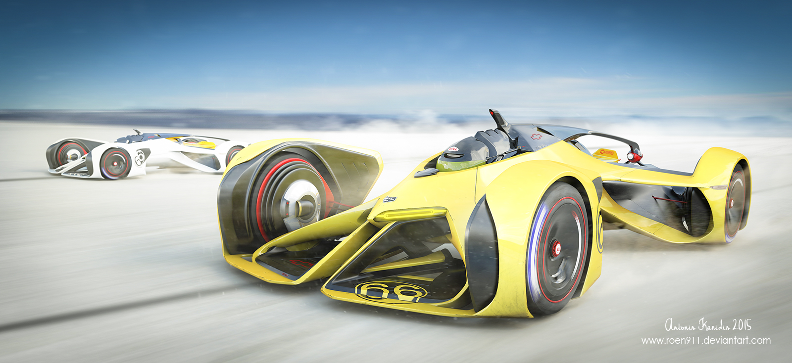 Chaparral Racing 2X Vision by rOEN911