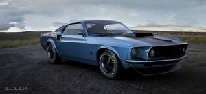 Ford Mustang boss 429 by rOEN911