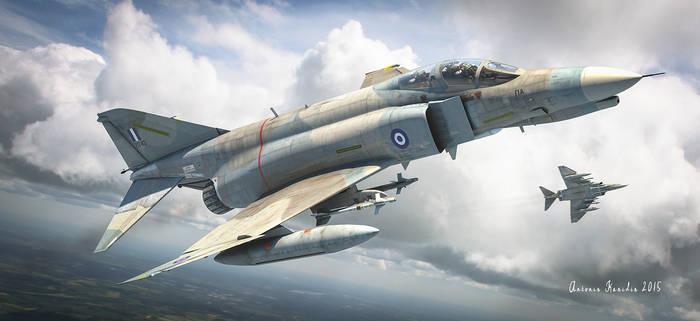 Hellenic air force f-4 phantom
