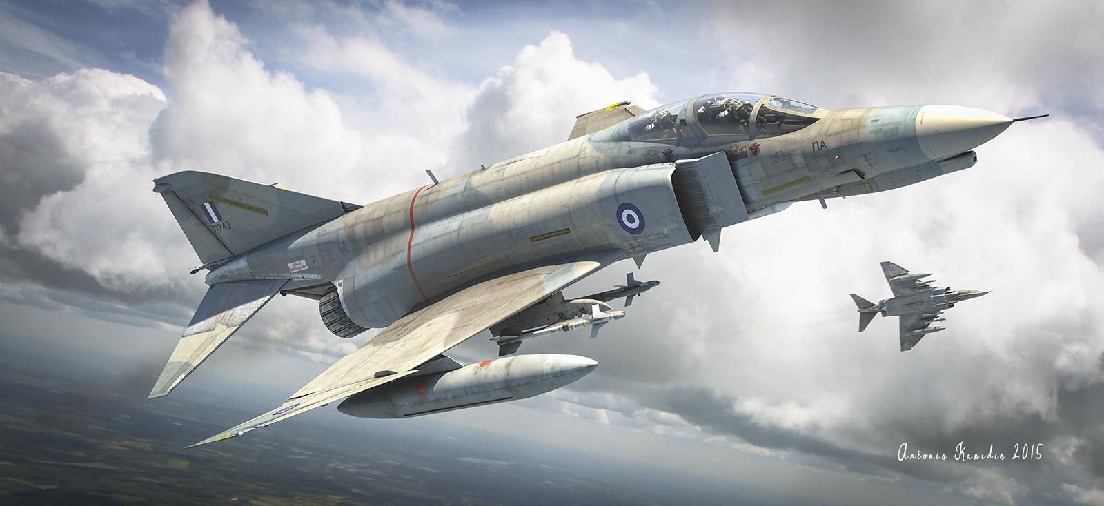 Hellenic Air Force F 4 Phantom By Roen911 On Deviantart