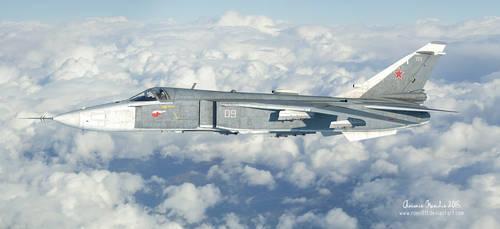 Sukhoi Su-24 by rOEN911