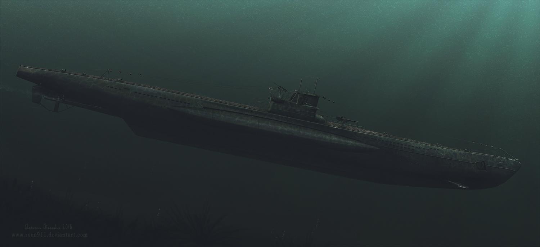 German Type VII U-Boat