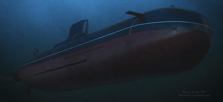Typhoon Class Submarine By Roen911 On Deviantart