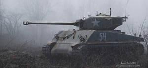 M4A3E8 Sherman Tank 3D MODEL