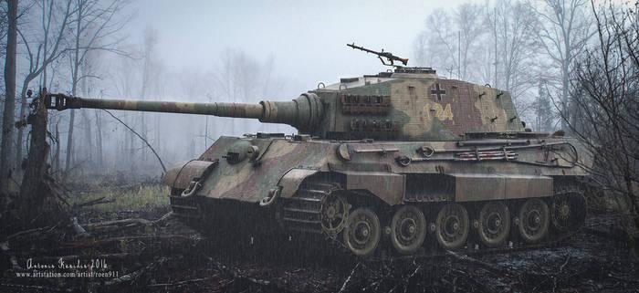 Last of its kind - SDKFZ 182 Tiger 2