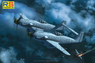 RS-Models : Me-609 Nightfighter box art by rOEN911